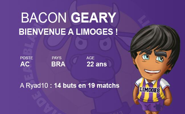 SB Limoges : le GRAND club de province Geary