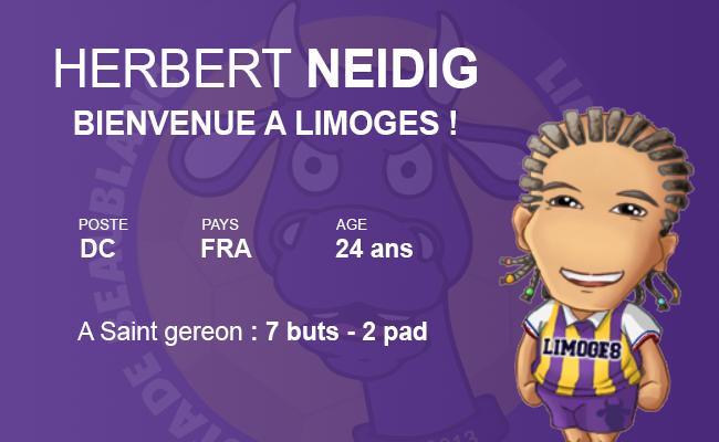 SB Limoges : le GRAND club de province Neidig